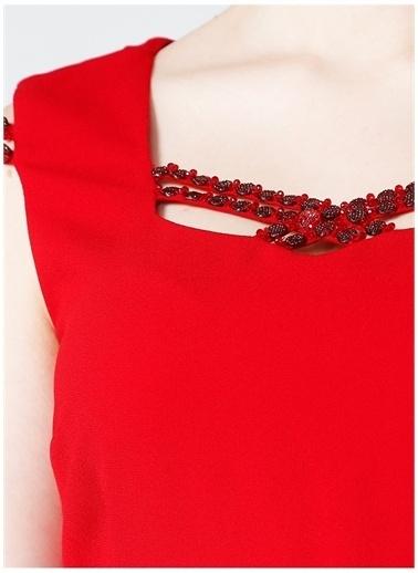 Selen Selen Elbise Kırmızı